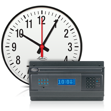 wired wall clocks