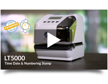 Electronic Document Stamp LT5000 Time And Date Machine