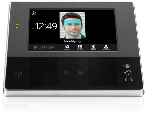 Face Recognition Biometric Time Clock