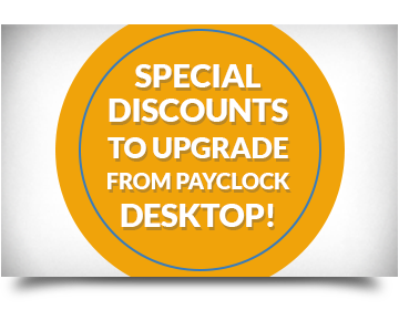 Upgrade PayClock Desktop to PayClock Online