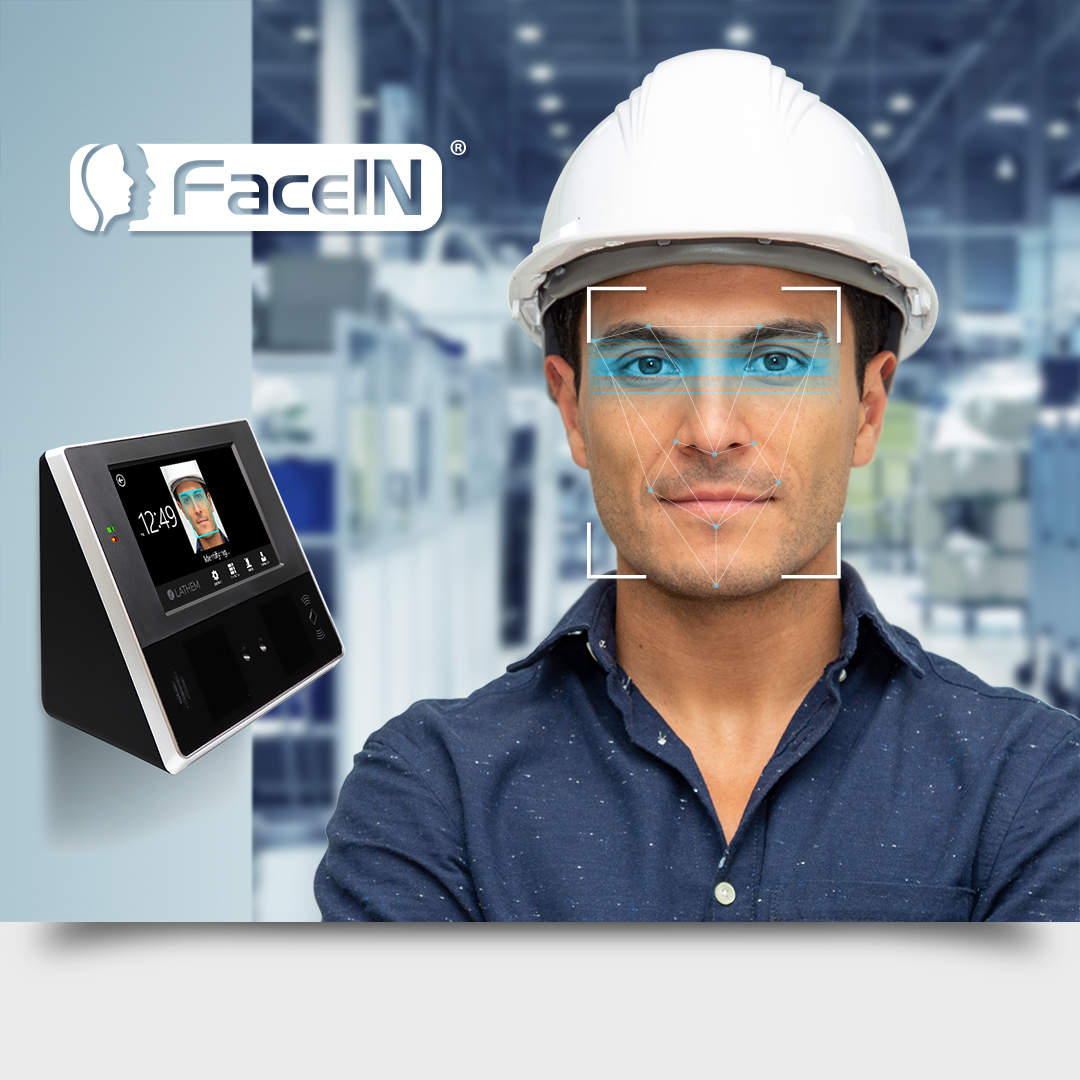 Contactless Biometric Face Recognition Time Clock