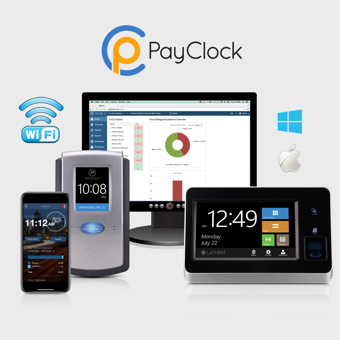 Manage Time & Attendance Anytime, Anywhere