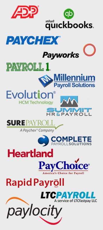 The companies that offer payroll integrations