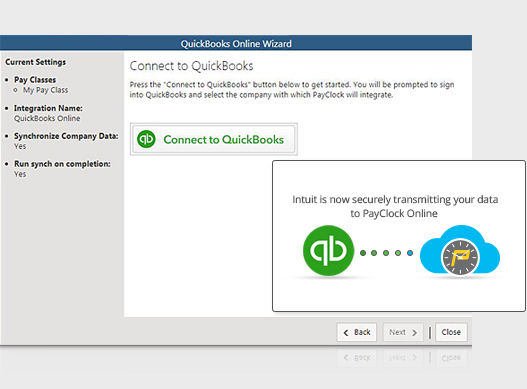 Time Clock Software Integration With QuickBooks Online
