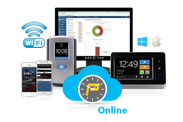 Free 30 Day Trial of PayClock Online from Lathem