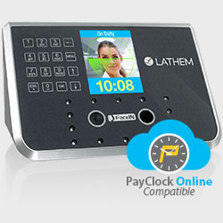 PayClock Online with Biometric FaceIN Face Recognition Time Clocks