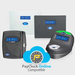 PayClock Online with Legacy Lathem Time Clocks