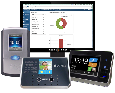 Employee Time Clocks With Time Clock Software