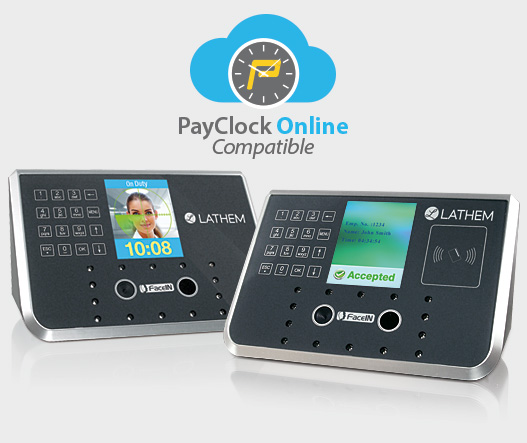 Lathem Attendance Solutions Time Clock Face Recognition